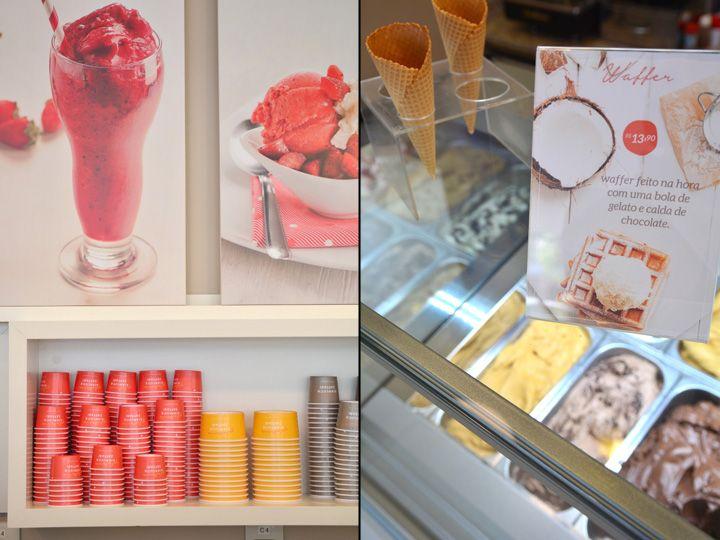 Gelateria Gianluca Zaffari By Studio Cinque Porto Alegre Brazil Retail Design Blog