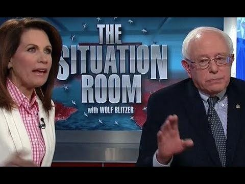 That Time When Bernie Sanders Tried To Debate Michele Bachmann On CNN & Her Comedy Of Errors
