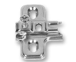 Mounting Plate For Mini And Glass Door Hinges 3mm LQ-H71019-NP-A