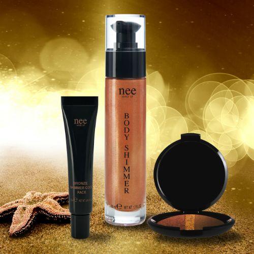 Shimmer Nee Makeup