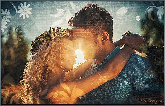 Гифы мужчина и женщина любовь