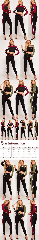 Fashion  Women 2pcs Cotton Hoodies Sweatshirt Pants Sets Velvet Tracksuit Suit for female