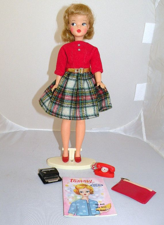 TAMMY Doll Dressed in School Daze Dress by BarbieandFriendsVtg, $85.00  Had this when I was a kid!