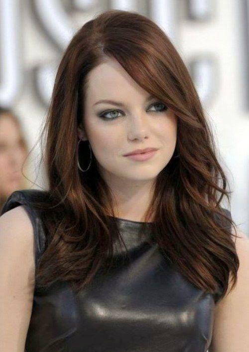 20 best Medium Brunette Hairstyles images on Pinterest | New ...
