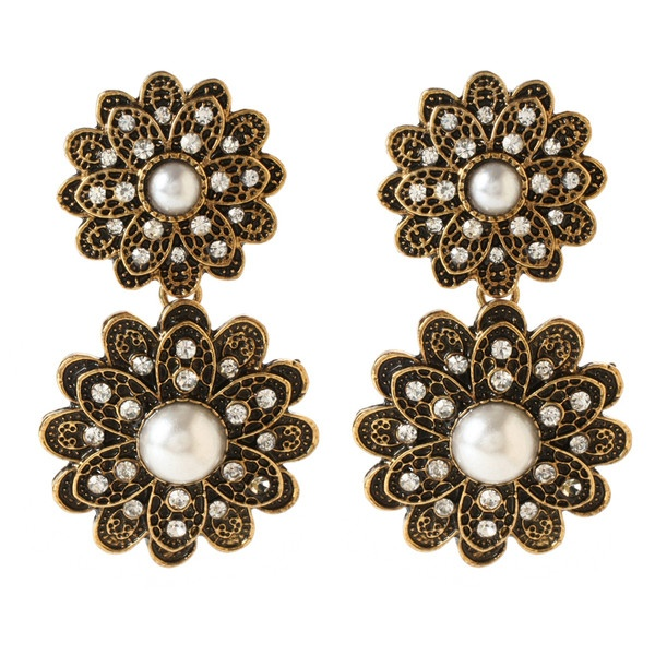 Amrita Singh Brigette Autumn Earrings ($75) ❤ liked on Polyvore
