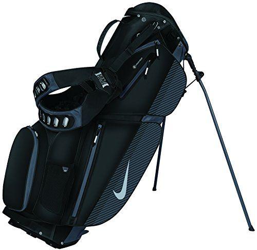 Amazon.com : Nike Air Sport Stand Golf Bag, Black/Silver/Dark Grey : Golf Carry Bags : Sports & Outdoors