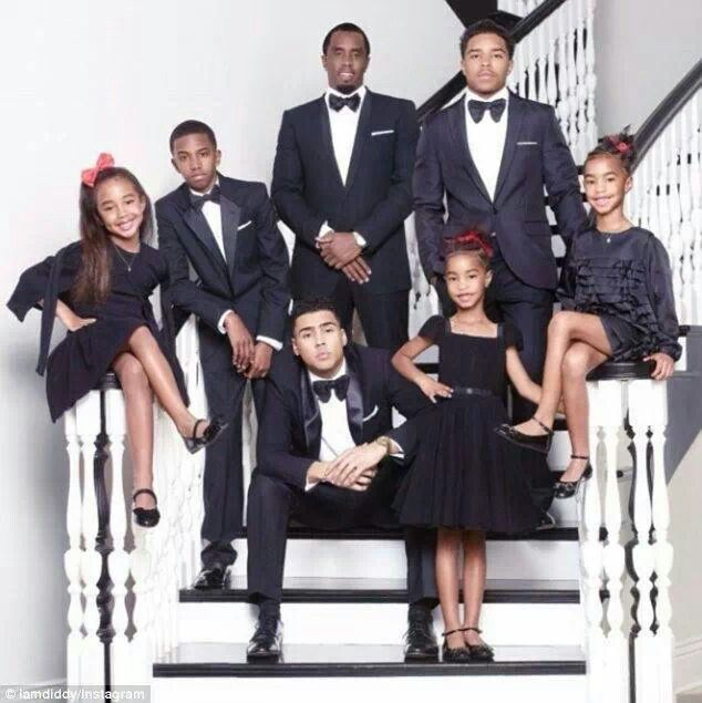 Sean Combs & His Children