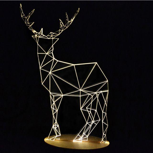 2 435,93 руб.  Creative 3D визуальный свет мультфильм ночь свет Дети гостиная спальня лампа подарок на день рождения для малыша ночники