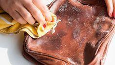 Cómo arreglar un bolso de cuero. vinagre blanco, bicarbonato y luego crema hidratante. ¡Nuevo!
