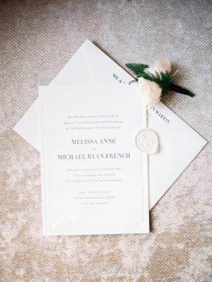 Classic Modern Wedding Invitations #weddingdeals #lovestruckdeals
