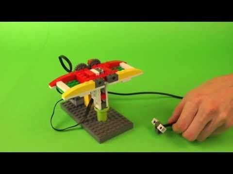 Venus flytrap LEGO WeDo