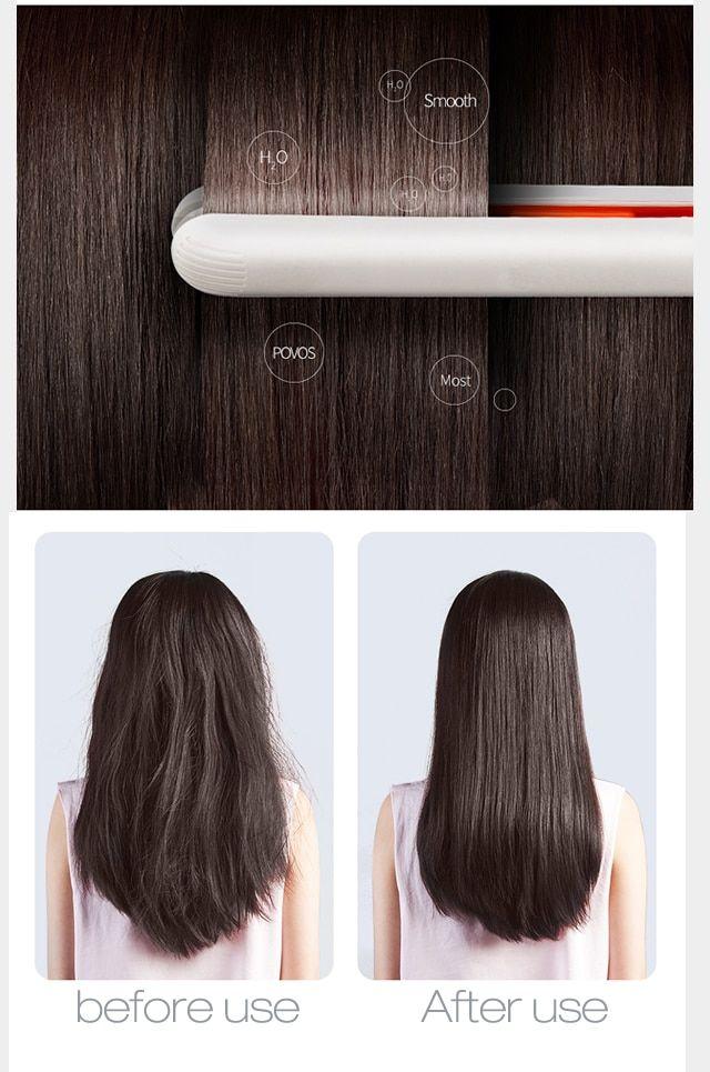 New Mini Hair Straightener Flat Iron Curling Hair Beard Straightener C Mini Hair Straightener Hair Straightening Iron Hair Crimper