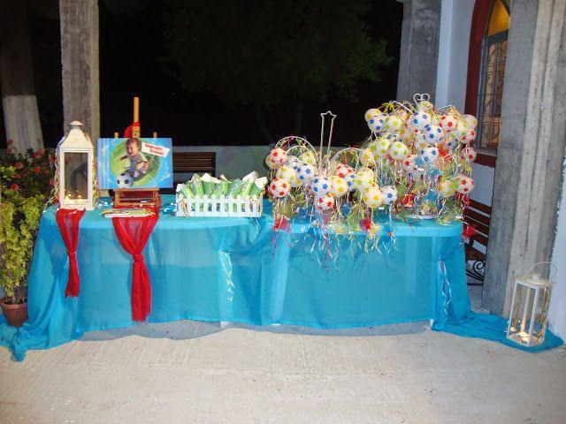 S.K. epiloges: Βάπτιση με θέμα το ποδόσφαιρο για τον Ζαφείρη - Στ...