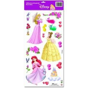 Disney Prinsessor Väggdekaler 19-Pack