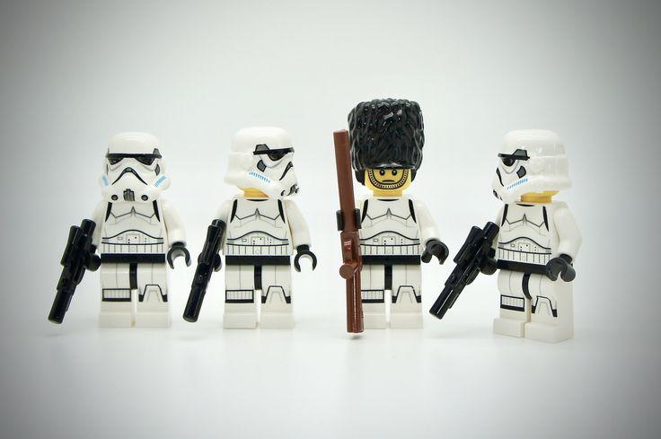 https://flic.kr/p/YRnZ8U | LEGO Stormtrooper Royal Guard | Lego Star Wars Stormtroopers Online with a Royal Guard Member ...