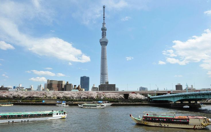 tokyo skytree: world's tallest free-standing communications tower