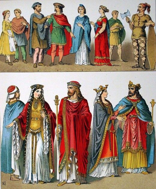 Clothing in Middle Ages