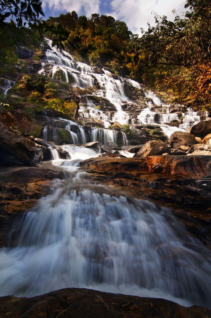 MaeYa Waterfall : Chiang Mai : Thailand by Saravut Eksuwan on 500px