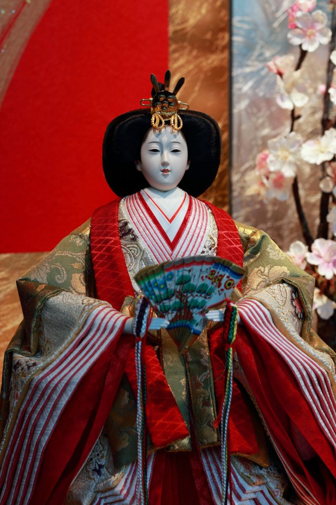 Hina doll hina #heian #heiankyo #hina_doll