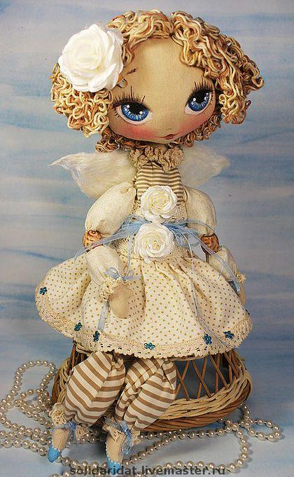 Fairy-tale characters handmade.  Fair Masters - handmade Juno, the Angel estate needs.  Handmade.