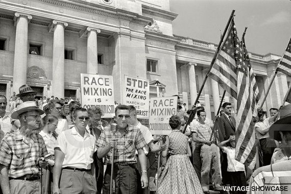 Little Rock Nine Civil Rights Protest 1959 Photo | Black, white pictures, White picture, Little rock