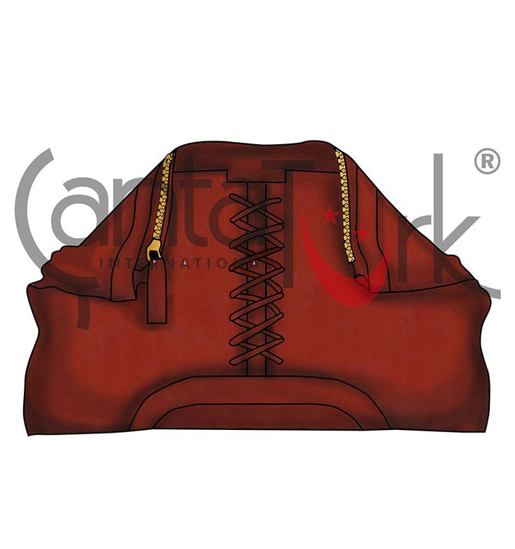 Terracotta cluth bag