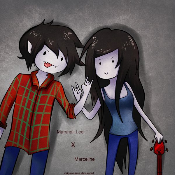 Free Adventure Time Marceline And Marshal Lee Cosplay