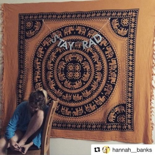 #Repost the lovely @hannah__banks custom banner with @repostapp ・・・ stay rad yo. @paperstreetdolls #stayrad #yo