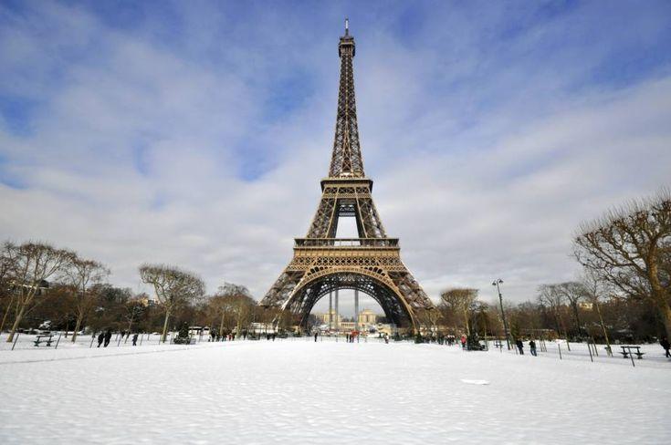 Fotos: veja os belos cenários de Paris durante o inverno