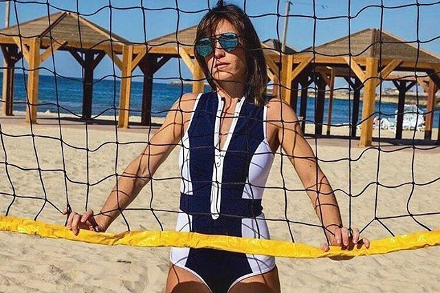 Got game?  Amazing shot of our Monte Carlo surf suit from one of our stockist's @elkinswimsuit located in Israel | #duskii #duskiiactive #surfsuit