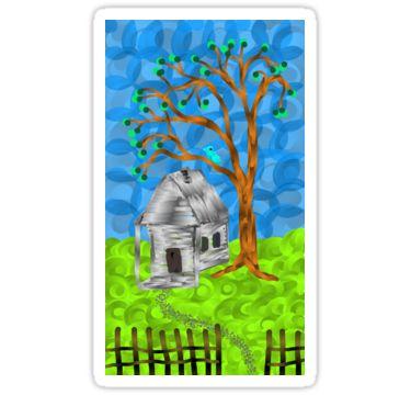 Phone Art Sticker 17 by StickerNuts