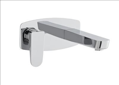 Hudson Reed C P ASPIRE WALL MOUNTED BATH FILLER Finish Chrome