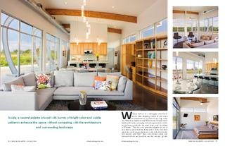 Austin-San Antonio Urban Home Magazine on Casa de Corazon with Sonneman Teardrop Pendants