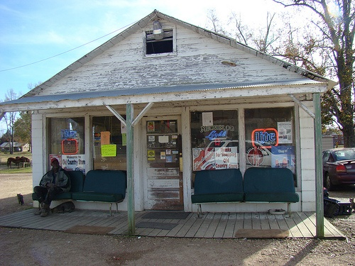 Old Store At Phebe, Mississippi by jwinfred, via Flickr