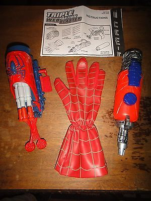 Marvel Spider-Man 2 Triple Action Web Blaster Toys By Toy Biz 2004 Columbia Pics