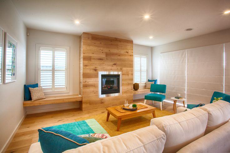 Modern and coastal family room