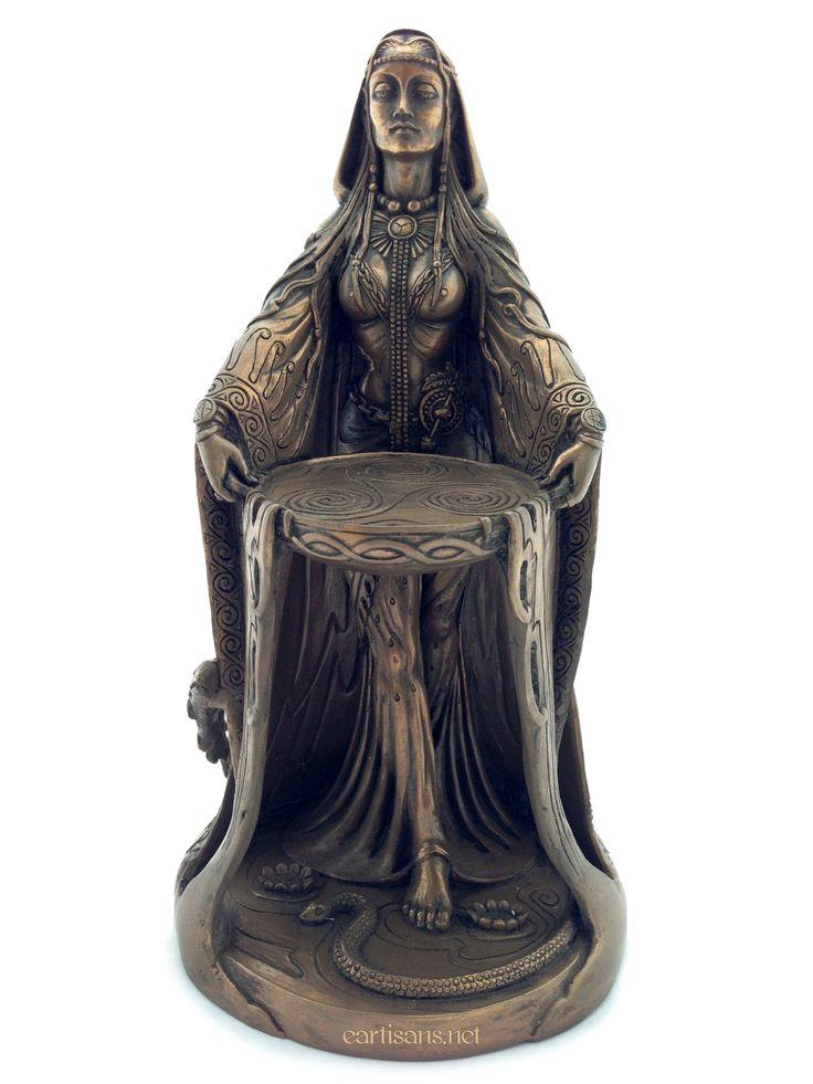 Danu Goddess Statue-Celtic Goddess Of Earth and Abundance