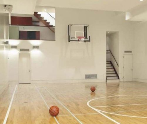 15 best In-Home Basketball Courts images on Pinterest | Indoor ...