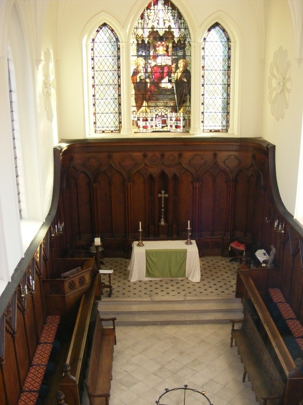 The chapel. Hartlebury Castle.  The home of the bishops of Worcester until recent times.