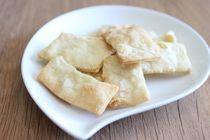 Olive Oil and Sea Salt Crackers Recipe
