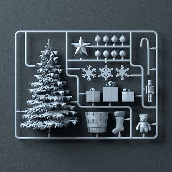 Christmas Kit on Behance