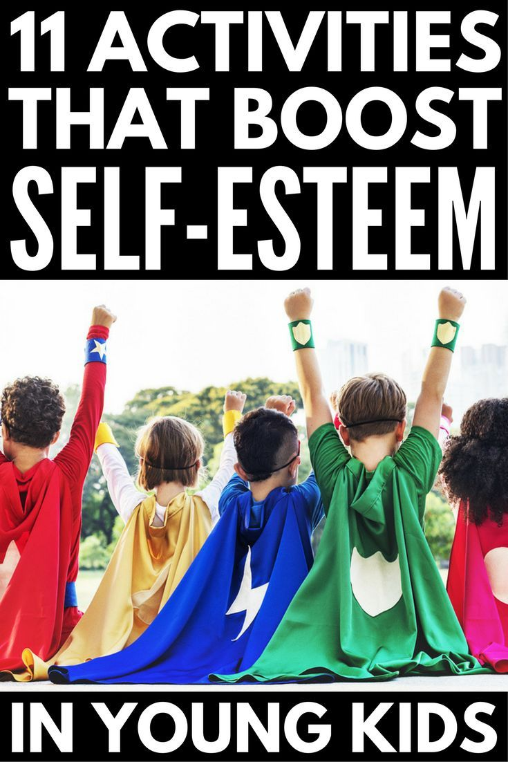 Self Esteem Activities for Kids: 11 Fun Ways to Develop Self-Respect   If you're on the hunt for games, crafts, teaching tools, and therapy ideas for girls and boys to help develop self-esteem and self-confidence, you've come to the right place! Perfect for parents, teachers, and even elementary school counsellors, this collection of self-esteem activities for kids is perfect for children in preschool, kindergarten, elementary school, and beyond.