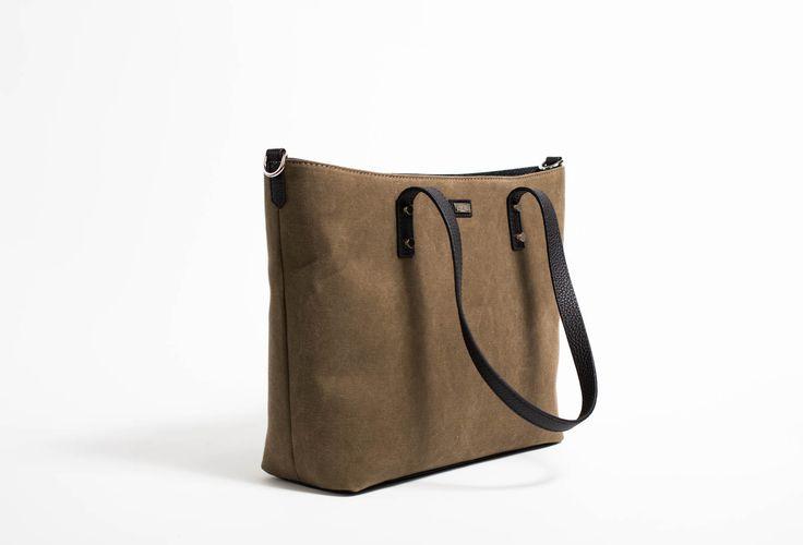 The new EBETH Wing canvas handbag in safari cotton canvas. Want it? Pre-order it now at ebeth.no/pre-order