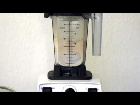 Is the Vitamix dry container worth it? - Joy of Blending Grinding wheat with the wet container