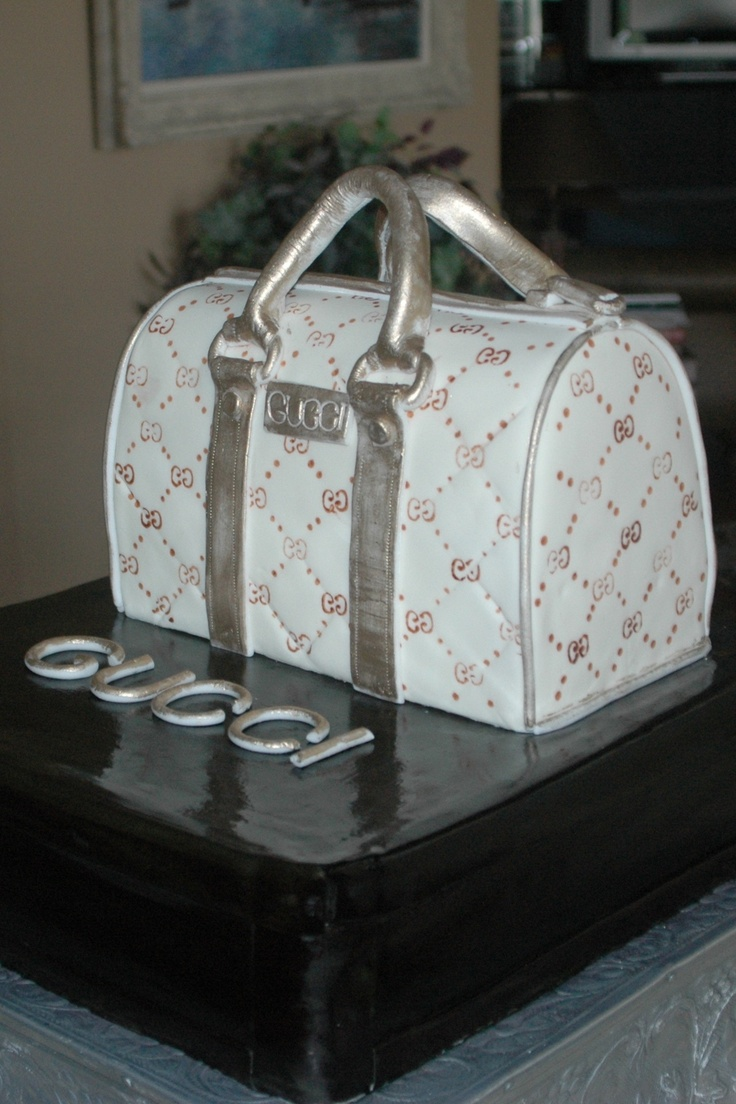 gucci #purse #cake