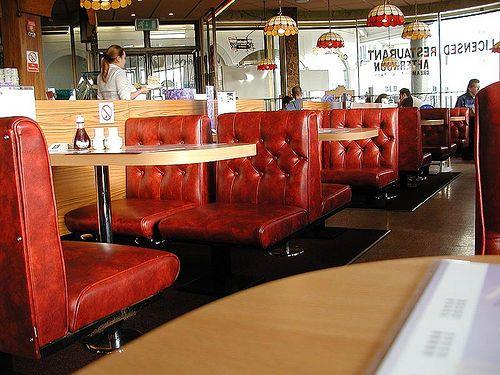 American burgers cafe interior design restaurant cafes