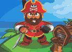 Il coraggioso pirata Andy è stato ammutinato dalla sua ciurma, aiutalo a recuperare le cinque casse di tesoro che gli sono state rubate e a riprendersi il comando della nave.