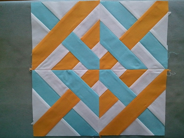 Great paper pieced block!