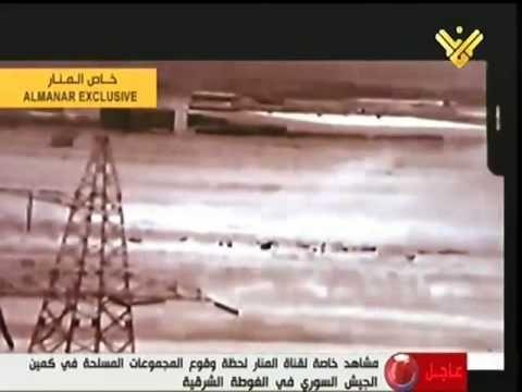 عملية كمين الغوطة التى ادت الى قتل اكثر من 100 ارهابي 26-2-2014