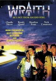 The Wraith - 80's Horror Movies-My favorite Charlie Sheen movie ever!!!